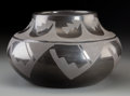 American Indian Art:Pottery, A San Ildefonso Blackware Jar. Carlos Sunrise Dunlap...