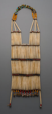 A Plains Woman's Breastplate