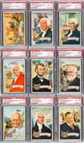 "Non-Sport Cards:Sets, 1956 Topps ""U.S. Presidents"" Complete Set (36) - #9 on the PSA SetRegistry. ..."