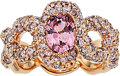 Estate Jewelry:Rings, Spinel, Colored Diamond, Rose Gold Ring. ...