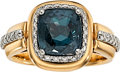 Estate Jewelry:Rings, Alexandrite, Diamond, Platinum, Gold Ring. ...