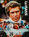 """Movie Posters:Sports, Le Mans (Cinema Center, 1971). Gulf Promotional Poster (17"""" X 22""""). Sports.. ..."""