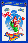 "Movie Posters:Animation, Rollercoaster Rabbit (Buena Vista, 1990). One Sheet (27"" X 40""). DS. Animation.. ..."