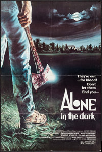 "Alone in the Dark & Other Lot (New Line, 1982). One Sheets (2) (27"" X 41""). Horror. ... (Total: 2 Items)"