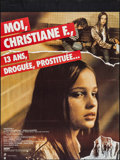 "Movie Posters:Drama, Christiane F. (Parafrance, 1981). French Grande (46"" X 61.5"").Drama.. ..."