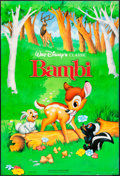 "Movie Posters:Animation, Bambi (Buena Vista, R-1993). International One Sheet (27"" X 40"") & Argentinean One Sheet (27"" X 39""). Animation.. ..."