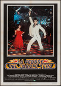 "Movie Posters:Drama, Saturday Night Fever (CIC, 1978). Italian 2 - Fogli (39.25"" X55.25""). Drama.. ..."