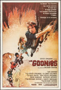 "Movie Posters:Adventure, The Goonies (Warner Brothers, 1985). Argentinean Poster (29"" X 43"") Flat Folded. Adventure.. ..."