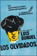 "Movie Posters:Crime, Los Olvidados (Ultramar Films, S.A., R-1960s). Argentinean Poster(28"" X 42"").. ..."