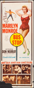"Movie Posters:Drama, Bus Stop (20th Century Fox, 1956). Insert (14"" X 36""). Drama.. ..."