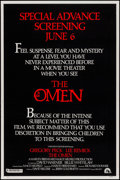 "Movie Posters:Horror, The Omen (20th Century Fox, 1976). Posters (3) (40"" X 60"") 3 Styles (A,B,C). Horror.. ... (Total: 3 Items)"