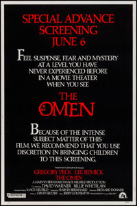 "The Omen (20th Century Fox, 1976). Posters (3) (40"" X 60"") 3 Styles (A,B,C). Horror. ... (Total: 3 Items)"