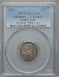 Bust Dimes: , 1837 10C -- Cleaning -- PCGS Genuine. VF Details. NGC Census:(3/143). PCGS Population: (6/216). CDN: $80 Whsle. Bid for pr...