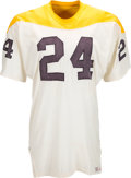 Football Collectibles:Uniforms, Circa 1966 Pittsburgh Steelers Game Worn Jersey....