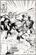 Original Comic Art:Covers, Geof Isherwood and Jim Sanders III Doctor Strange, SorcererSupreme #38 Cover Original Art (Marvel, 1992)....