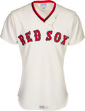 Baseball Collectibles:Uniforms, 1978 Jim Rice Signed Game Worn Boston Red Sox Jersey -- MVP Season!...