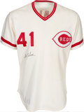 Baseball Collectibles:Uniforms, 1978 Tom Seaver Signed Game Worn Cincinnati Reds Jersey....