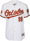 Baseball Collectibles:Uniforms, 2013 Chris Davis Game Worn Unwashed Baltimore Orioles Jersey from Home Run #39 MLB Authentic. ...