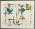 Fine Art - Work on Paper:Print, William Weege (b. 1935). Hsokhso, 1979. Relief in colors on handmade paper. 19-1/2 x 25 inches (49.5 x 63.5 cm) (sheet)...