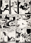 Original Comic Art:Panel Pages, Will Eisner The Spirit Weekly Newspaper Section Sunday Page5 Original Art dated 11-10-46 (Register and Tribune Sy...