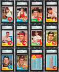 Baseball Cards:Sets, 1963 Topps Baseball Partial Set (468/576 + 3 variations). ...