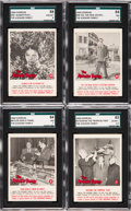 "Non-Sport Cards:Sets, 1964 Donruss ""The Addams Family"" Complete Set (66). ..."