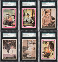 """Non-Sport Cards:Sets, 1966-67 Donruss """"The Monkees"""" Complete Sets (4) - An instantCollection. ..."""