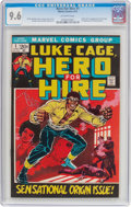 Bronze Age (1970-1979):Superhero, Hero for Hire #1 (Marvel, 1972) CGC NM+ 9.6 Off-white pages....