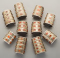 Tribal Art, Ten Turkoman Cuff Bracelets. ... (Total: 10 Items)