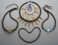 Tribal Art, Five African Bead Necklaces. ... (Total: 5 Items)