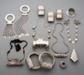 Tribal Art, A Group of Tibetan and Indian Jewelry. ... (Total: 11 Items)