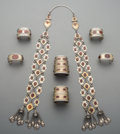 Tribal Art, A Seven-Piece Tibetan or Pakistani Jewelry Group... (Total: 7Items)