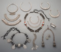 Tribal Art, An Eleven-Piece Assorted Group of Indian and Asian Jewelry. ...