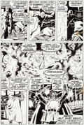 Original Comic Art:Panel Pages, Wally Wood Astonishing Tales #3 Page 10 Original Art(Marvel, 1970)....