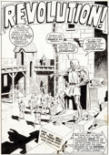 Original Comic Art:Splash Pages, Wally Wood Astonishing Tales #2 Story Page 2 Doctor DoomOriginal Art (Marvel, 1970)....
