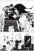 Original Comic Art:Panel Pages, Jim Lee and Scott Williams All-Star Batman and Robin the BoyWonder #8 Page 18 Original Art (DC, 2008)....