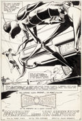 Original Comic Art:Splash Pages, Dick Giordano Flash #223 Splash Page 1 Green LanternOriginal Art (DC, 1973)....