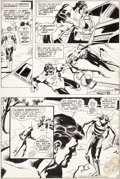 Original Comic Art:Panel Pages, Dick Giordano The Flash #223 Story Page 2 Original Art (DC,1973)....