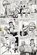 Original Comic Art:Panel Pages, George Tuska and Billy Graham Hero for Hire #9 Page 27Original Art (Marvel, 1973)....