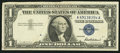 Error Notes:Foldovers, Foldover Error Fr. 1619 $1 1957 Silver Certificate. VeryFine-Extremely Fine.. ...