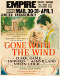 "Movie Posters:Academy Award Winners, Gone with the Wind (MGM, 1940). Jumbo Window Card (22"" X 28"").. ..."