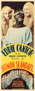"""Movie Posters:Comedy, Roman Scandals (United Artists, 1933). Insert (14"""" X 36"""").. ..."""