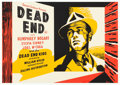 "Movie Posters:Crime, Dead End (Ealing, R-1944). British Half Sheet (19.75"" X 28"")Clifford Rowe Artwork.. ..."