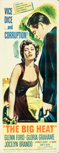 "Movie Posters:Film Noir, The Big Heat (Columbia, 1953). Insert (14"" X 36"").. ..."