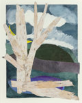 Fine Art - Work on Paper:Print, Barbara Sundheimer (b. 1953). Brant Lake (two works), 1985. Collages in colors on paper. 11 x 9 inches (27.9 x 22.9 cm) ... (Total: 2 Items)