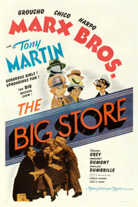 "The Big Store (MGM, 1941). One Sheet (27"" X 41"") Style D"
