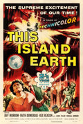 """Movie Posters:Science Fiction, This Island Earth (Universal International, 1955). One Sheet (27"""" X 41"""") Reynold Brown Artwork.. ..."""