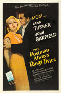"Movie Posters:Film Noir, The Postman Always Rings Twice (MGM, 1946). One Sheet (27"" X 41"")....."