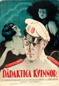 "Movie Posters:Drama, Foolish Wives (Universal, 1922). Full-Bleed Swedish One Sheet (27""X 39.5"").. ..."