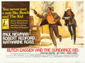 "Movie Posters:Western, Butch Cassidy and the Sundance Kid (20th Century Fox, 1969). British Quad (30"" X 40"").. ..."